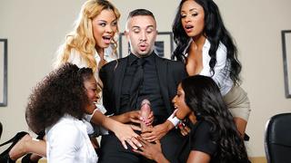 Image: Office 4-Play VII: Ebony Babes