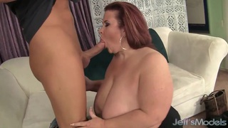 Fat Ass Lady Lynn takes cum image