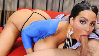 Amy Anderssen & Mr. Pete in My Girlfriends Busty Friend image