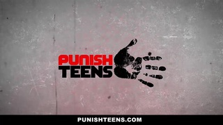 PunishTeens - Sydney Cole Gets Fucked by 2 Guys image
