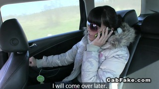 Czech taxi driver fucks beauty image