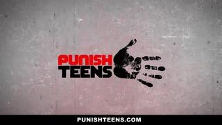 PunishTeens - Latina ThroatFucked For Revenge image