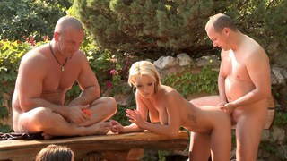 Image: Outdoor sex fun and porn games episode 4