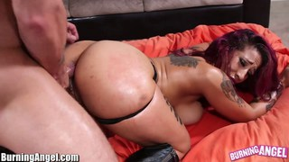 Big ass punk babe oiled_and analed image