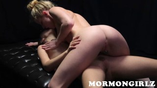 Mormon babe Anne fucking her girlfriend image