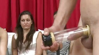Male sex toys used while women watch image