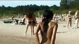 Image: Naked 19yo Walking Around The Beach