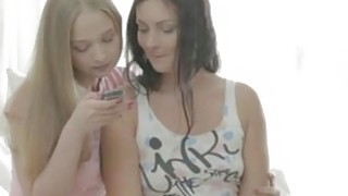 Naughty teenager women share a boyfriend image