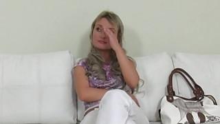 Image: Blonde Czech amateur babe has hardcore casting