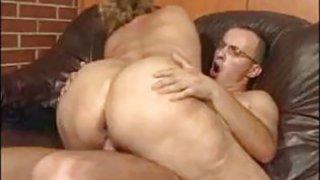Fat Granny Fucked On The Floor image