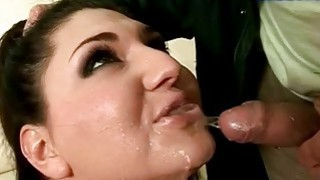 Boy and his chubby girlfriend pissing and fucking image