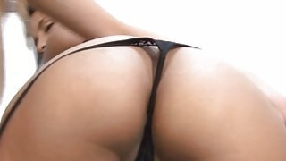 Sexy gf knows how to play with_huge thick strapon image