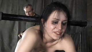 Tied up cutie acquires tongue and facial_torture image