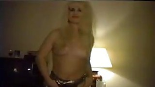 Hairy Blonde Stripping Classic image