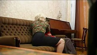 Russian Granny_And Her Young Lover image