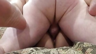 Image: Amateur couple have great fuck and creampie on the couch