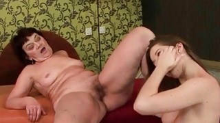 Grannies and Teens Wet Cunts Licking Compilation image