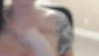 Big tits masturbating and squirting image