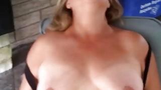 Fat Mature Woman Masturbating image