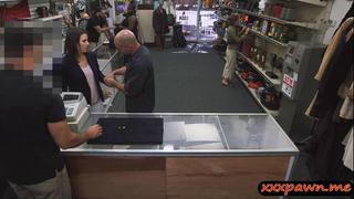 Image: Some dueche bags wife sucks and gets nailed in the pawnshop