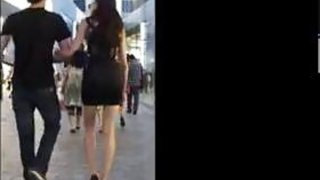 Babe With_Great_Legs Walking Around image