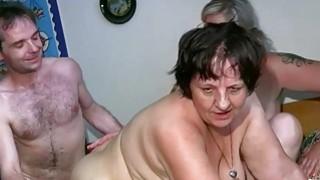 OldNanny Chubby lady and milf masturbate fuck image