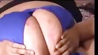 BBW Sucking On Her Big Boobs image