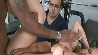 Husband love to watch his wife in strangers cum image