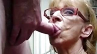 Image: OmaFotze Old Grannies sucking dick hard