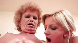 Image: Hot Teens and Chubby Grandmas Lesbian Compilation