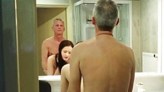 Image: Big boobs and young pussy for lucky old man