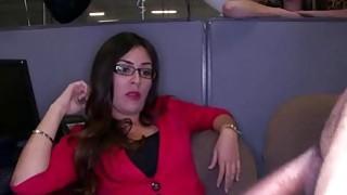 Secretaries going wild and sucks that big hot cock image