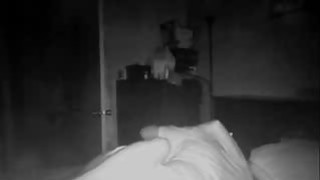 My BBW mom on spy camera with her BF image
