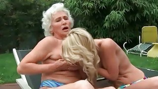 Matures and Young Girls Lesbian Sex Compilation image