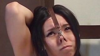 Extreme Japanese BDSM hot wax play subtitled image