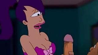 Futurama Porn  Zapp pole for Turanga girl image