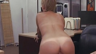Desperate waitress bangs for cash image