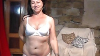 Lapdance, handjob and ride on big cock by chubby milf: mother son cellophane lapdance money image