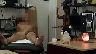 Asian Chic Gets Fucked At The Pawnshop image