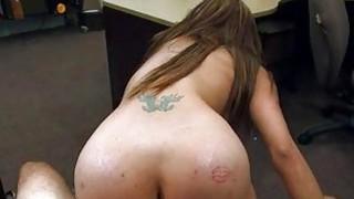 Image: Big jugs slut pawns her pussy and banged