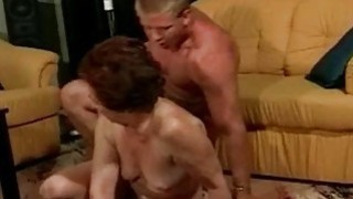 Image: Old pussy fucked by young cock