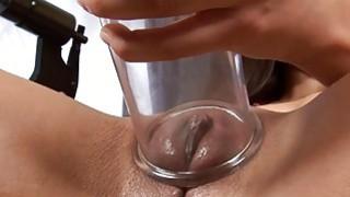 Image: Brunette Victoria Sweet masturbates to orgasm