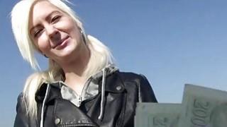 Sexy Czech girl Lenny analyzed outdoors image