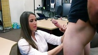 Big ass hottie pawns her twat and_railed image