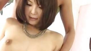 Azumi sticks it in her willing fish taco image