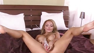 Hard pussy dildoing and showing pussy deeply image