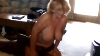 Cuckold Wife Sits on a Black_Man image