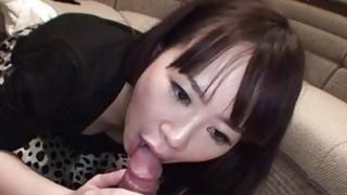Uncensored Japanese amateur CFNM handjob blowjob S image