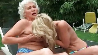 Image: Grannies and Young Girls Hot Lesbian Compilation