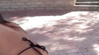 Image: Bikini beauty POV fucked on video
